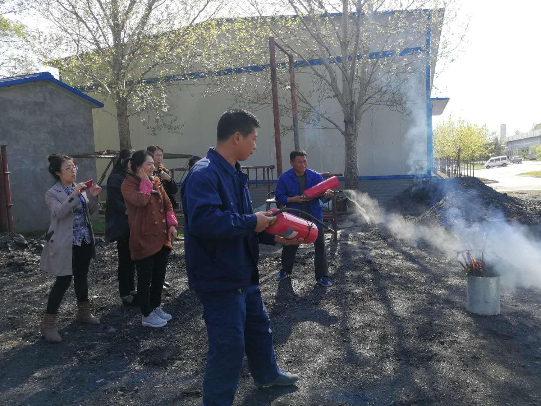 公司开展消防安全常识培训及演练